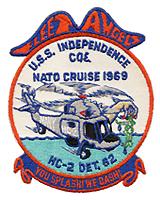 HC 2 DET 62 NATO CRUISE 1969