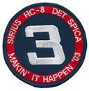 HC 8 DET 3 SPICA