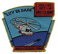 HSL 32 DET 4 MED CRUISE 1986