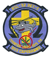 HSL 32 DET 5 COUNTER DRUG OPS 92