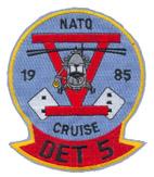 HSL 32 DET 5 NATO CRUISE 1985