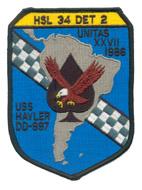 HSL 34 DET 2 UNITAS XXVII