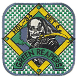 HSL 34 DET 6 GREEN REAPERS