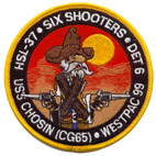 HSL 37 DET 6 SIX SHOOTERS
