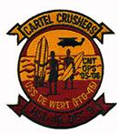 HSL 37 DET 9 CARTEL CRUSHERS USS DE WERT
