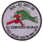 HSL 42 DET 10 ILL TEMPERED SEABASS