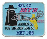 HSL 42 DET 10 SMUGGLERS