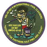HSL 42 DET 9 INTERNATIONAL POOL CLEANERS