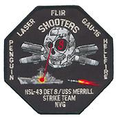 HSL 43 DET 8 SHOOTERS