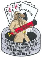 HSL 44 DET 2 CRIME DOGS