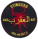 HSL 44 DET 3 STINGERS