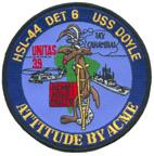 HSL 44 DET 6 ATTITUDE BY ACME