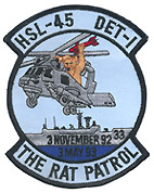 HSL 45 DET 1 THE RAT PATROL