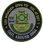 HSL 45 DET 7 SAIL AROUND 2004