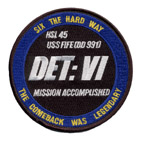 HSL 45 DET VI MISSION ACCOMPLISHED