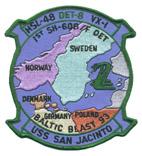 HSL 48 DET 8 BALTIC BLAST 93