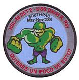 HSL 49 DET 2 SOUTHPAC 2001