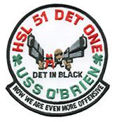 HSL 51 DET ONE DET IN BLACK