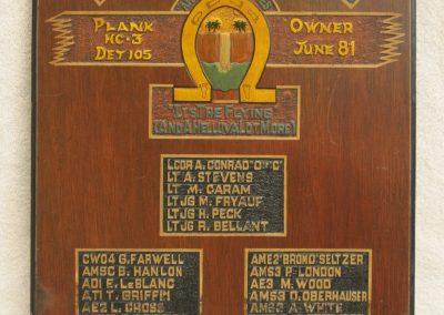 HC-3 Det 105 Plank Owner June 1981