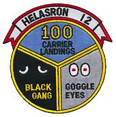 HS 12 100 CARRIER LANDINGS