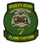 HS 7 DUSTY DOG PLANE CAPTAIN