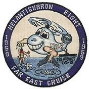 HS 8 FAR EAST CRUISE 1959