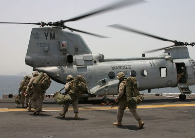m2. marines_CH-46_Helicopter