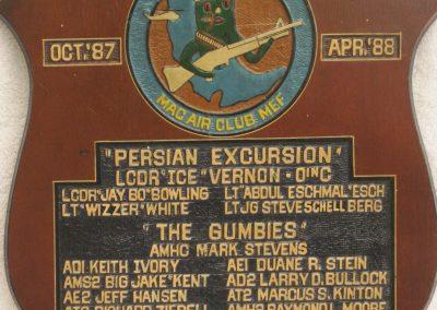 HSL-45 Det4 Persian ExcursionOct 1987-Apr 1988