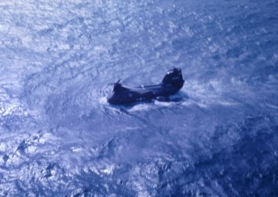 51 H-46 in water after engine failure - Copy