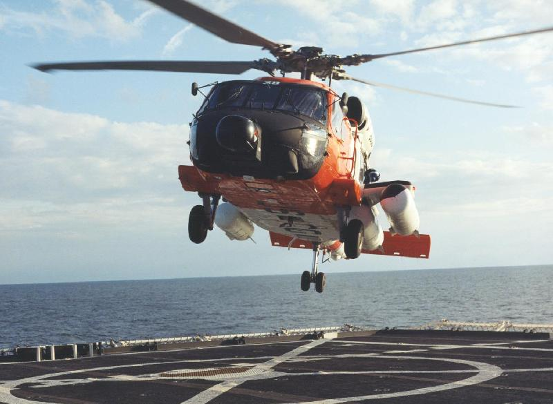 COAST GUARD HH-60J JAYHAWK HELICOPTER - Naval Helicopter