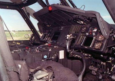 HH-60J cockpit