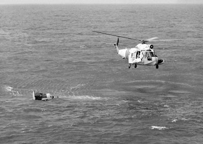 HH-52A_USCG_over_Gemini_3_capsule_1965