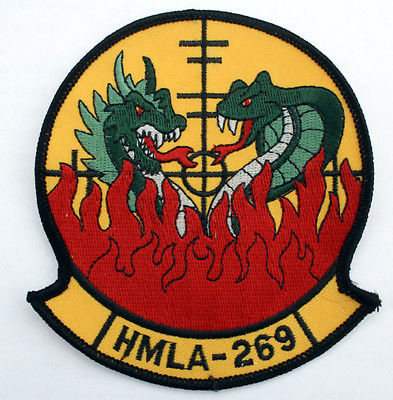 Hmla-269-Gunrunners-Patch-Us-Marines-Helicopter-Squadron-Veteran