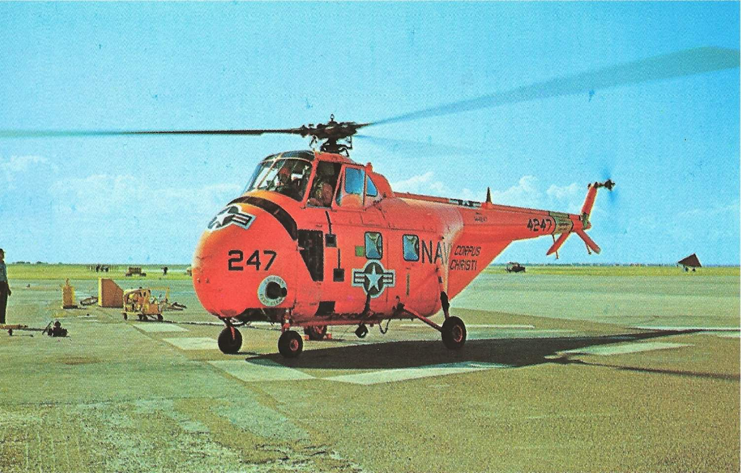 Navy HRS Helicopter
